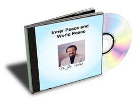 Inner Peace and World Peace CD Image